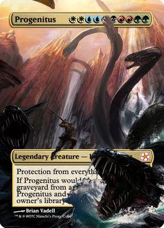 Magic The Gathering Progenitus Proxy