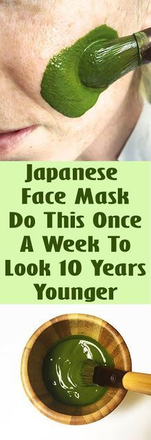 Japanese Face Mask: Do This Once A Week To Look 10 Years Younger !