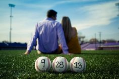 Baseball Save the Dates #baseball #savethedate