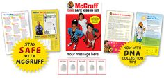 Request your FREE McGruff Child Safe Kit to store your child's information. Kit includes storage for photo ID, fingerprints, DNA, and physical description. Totally Free Stuff, Fingerprint Cards, Safety Message, Safety Kit, Love Is Free, Florida Travel, Free Stickers, Child Safety, Free Ebooks