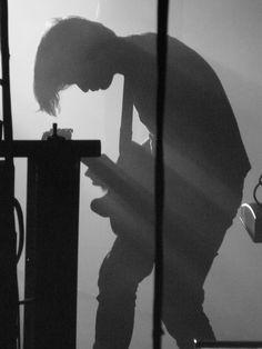 Jonny Greenwood of Radiohead.