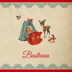 Bastiaan | rode wieg en hertje