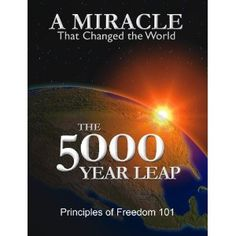 Eye-opening! Relevant!  Must read! Its any easy read as well.  The 5000 Year Leap