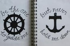 This would be a cute tattoo! ⚓