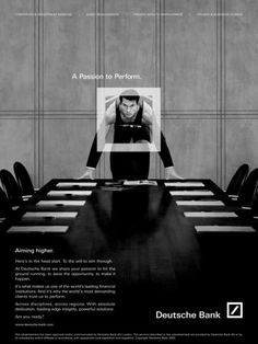 "Financial Services: ""SPRINTER"" Print Ad by Omnicom Team Deutsche Bank"