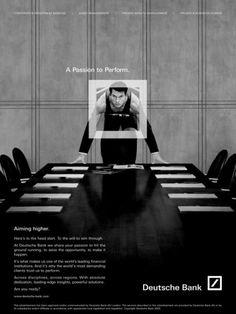 """Financial Services: """"SPRINTER"""" Print Ad  by Omnicom Team Deutsche Bank"""