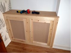 Alcove Cupboards, Basement Staircase, Built In Wardrobe, Wardrobes, Bathroom Medicine Cabinet, House Ideas, Google Search, Building, Build A Wardrobe