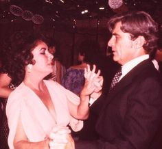 Elizabeth Taylor & John Warner. This photo not from the wedding (can't find one), but Liz is the bride of all brides.