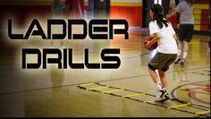 Quick Feet Training With Ladder Drills - Girls Basketball Pitt Basketball, Basketball Shooting Drills, Hockey, Basketball Tricks, Basketball Practice, Basketball Is Life, Basketball Workouts, Basketball Skills, Basketball Funny