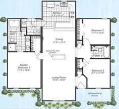 Fuller Modular Homes   Hickory Modular Home Floor Plan
