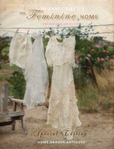 Jo-Anne Coletti's The Feminine Home -www.vintagerosecollection.com