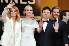 Melanie Laurent, Diane Kruger, Mike Myers and Daniel Bruhl attend the Inglourious Basterds Premiere held at the Palais Des Festivals during the 62nd International Cannes Film Festival on May 20th, 2009 in Cannes, France