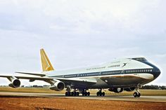 SAA Boeing 747-244B ZS-SAN Lebombo Delivery 06 Nov 1971