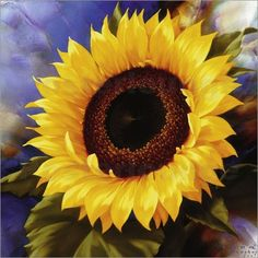 SUNFLOWER.....BY IGOR LEVASHOV......PARTAGE OF PAINTINGS.....ON FACEBOOK.......