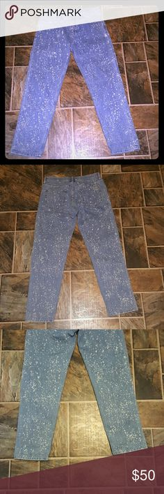 *SUNDAY SALE*MIH Freckled Phoebe Jeans No flaws. The phoebe slim, mid rise, slim slouch. No wear. Anthropologie Jeans