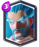 Mago de Gelo Clash Royale Carta