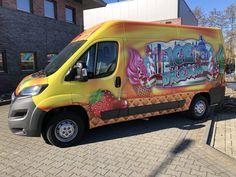 Prachtige ijswagen te koop Airbrush, Festivals