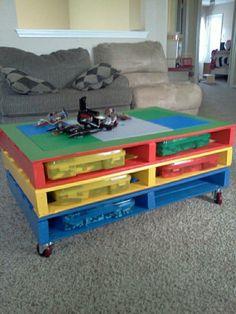 por si tienes niños esta es una idea de organizacion como para sus juguetes o asi