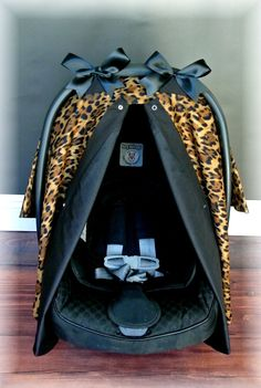 Items similar to Cheetah Leopard and Black Carseat Canopy - The Canopy Shoppe, Baby Car Seat Cover, Infant Carrier on Etsy Baby Girl Items, My Baby Girl, Baby Girls, Little Babies, Cute Babies, Baby Leopard, Cheetah, Baby Number 2, First Baby