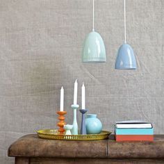 Dynamo lamp small - smoke blue - Superliving