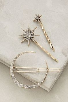 Anthropologie Stellar Hair Set » This is so pretty!