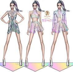 Modeconnect.com - Roberto Cavalli designs for Katy Perry's world tour