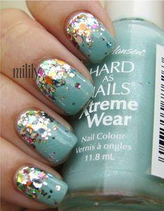 nails #glitter