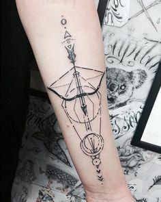 Tatuagem de Arco e Flecha 8