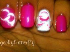 pink/white/circles