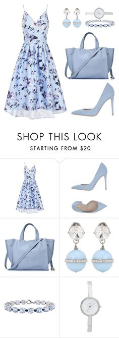 """""""Untitled #383"""" by dias123 ❤ liked on Polyvore featuring Chi Chi, Le Silla, Miu Miu, Miadora and DKNY"""