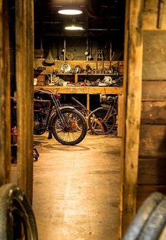 antique workshop...