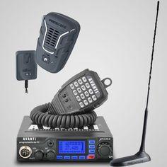 Poze Statie radio CB Avanti Primo 4-20W reglabil + antena radio CB President Virginia _+ Microfon Wireless President Mic
