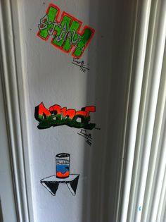 Wandgraffities Caspar 7/2014