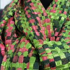 Handwoven with ribbons!!! by Pancho Pinsag