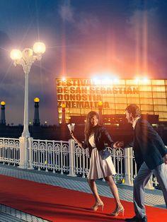 Zinemaldia. #cine #film #cinema #movie #SanSebastian International Film Festival, Cosmopolitan, Fair Grounds, Basque Country, Spain, Travel, Saints, Film Festival, Life