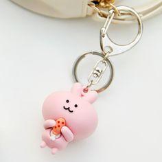 Kakao Friends - Scappy Key Ring - An adorable and lovely little key ring. Keychain Ideas, Cute Keychain, Harajuku Style, Harajuku Fashion, Apeach Kakao, Kakao Friends, Baby Pink Aesthetic, Kawaii Accessories, Cute Pillows