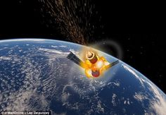 China space lab may fall to Earth later: European Space -  The Tiangong-1 is set to tear across earth's sky any time from Sunday to Monday  It was due to appear as early as Saturday but changing weather slowed descent  China said it should disintegrate before reaching earth and not cause damage  Debris from the craft could appear anywhere on globe according to scientists  Ground crews don't have control of station's engines so can't control movement  By Rory Tingle For Dailymail.com…
