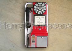 Samsung Galaxy S5,Crosley Pay Phone case cover,Vintage,Red iphone 5/5s case,iPhone 5c case,Samsung Galaxy S3 S4 CASE,iPhone 4/4S Case,P92 on Wanelo