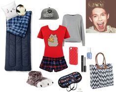 """""""~Sleepover with Nialler~"""" by picklepiesrock ❤ liked on Polyvore"""