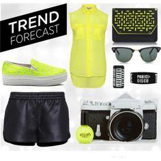 Neon festival trend