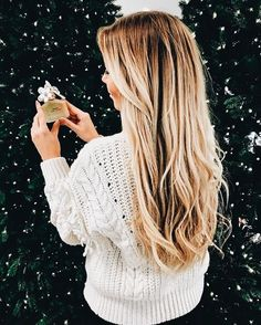 Long blonde hairstyles ombré hair