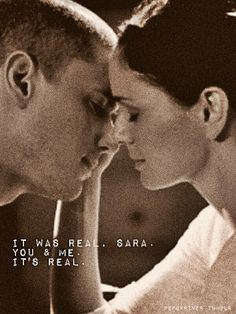 Michael and Sara (Prison Break) A writing prompt idea, just change the names Best Tv Shows, Best Shows Ever, Favorite Tv Shows, Michael Scofield, Tv Quotes, Movie Quotes, Prison Break 3, Michael And Sara, Sarah Wayne Callies