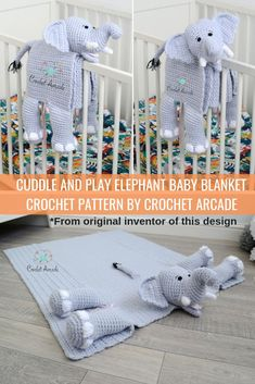 Cuddle and Play Elephant Babydecke Häkelanleitung . Cuddle and Play Elephant Babydecke Häkelanleitung . ,Stricken Cuddle and Play Elephant Babydecke Häkelanleitung . Crochet Blanket Patterns, Baby Blanket Crochet, Baby Patterns, Crochet For Baby, Lovey Blanket, Afghan Crochet, Baby Afghans, Crochet Art, Blanket Scarf