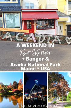 Bar Harbor, Maine is an adorable town with quick and easy access to Acadia National Park. Here are some great ideas of what to do during a long weekend in Maine, including Cadillac Mountain, Bar Island, and so much more! #maine #barharbor #travel #hiking #mountains #weekendtrip #falltrip #roadtrip #cadillacmountain #barisland Acadia National Park, National Parks, North America Destinations, Nature Photography, Travel Photography, Bangor Maine, Bar Harbor Maine, Weekend Trips, Long Weekend