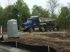 Stone slinger May 2016 Emergency Equipment, Sunrise, Monster Trucks, Construction, Stone, Vehicles, Building, Rock, Stones