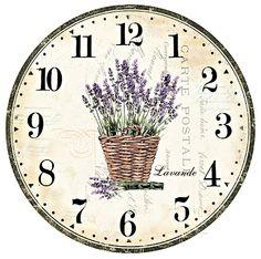 Nástěnné hodiny-carte postale I - zvětšit obrázek