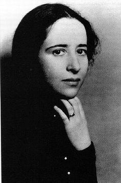 filósofa política alemana y posteriormente estadounidense de origen judío, una de las más influyentes del siglo XX.