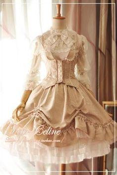 Dear Celine Invented Wings Knight Skirt