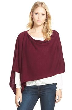 Camel - In Cashmere Convertible Cashmere Poncho available at #Nordstrom