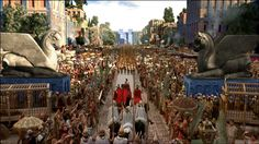 Movie Alexander - entering the city of Babylon